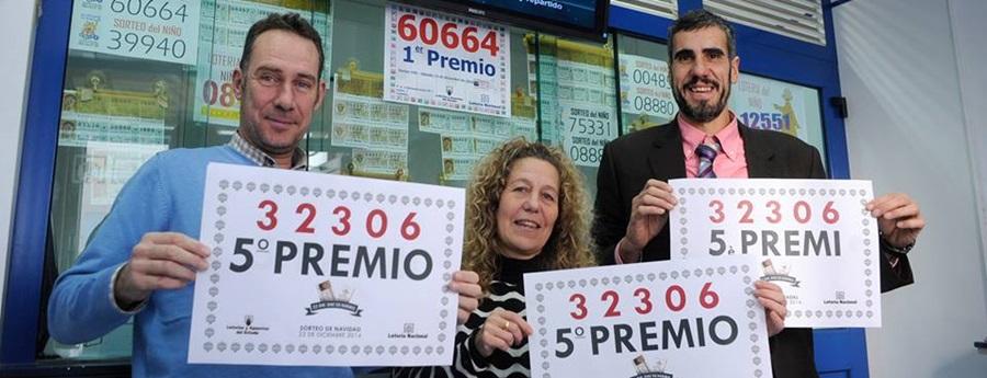 Sitges, Cubelles, Gelida i Vilanova reparteixen tres cinquens premis de la Grossa
