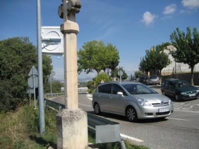 Ajuntament d'Olèrdola. Compte enrere per a la construcció de la rotonda d'accés al nucli de Moja