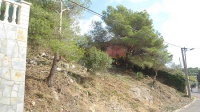 Ajuntament de Cubelles. Cubelles desbrossa parcel·les a Mas Trader II per evitar incendis forestals