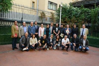 Teatres Amics. Foto de família dels Teatres Amics