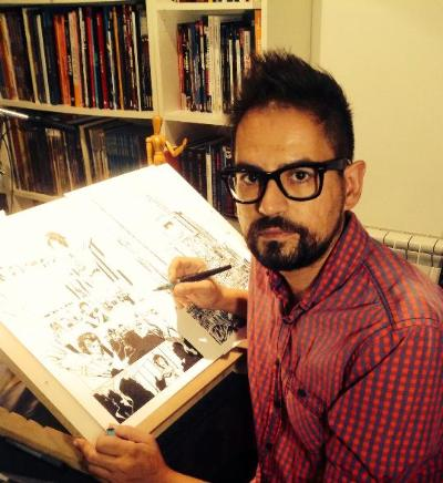 Adrià Gala. Jordi Fornés, dibuixant de Marvel