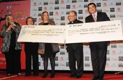 Confraria del Cava. La Confraria del Cava recapta 40.839 euros per finançar beques menjador de Càritas