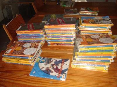 S. Sedó. L'Arboç posa en marxa un programa per a la reutilització de llibres de text