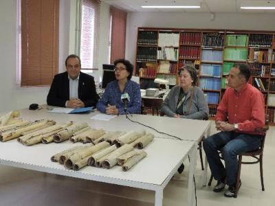 CC Baix Penedès. L'Arxiu Comarcal del Baix Penedès ingressa una important col•lecció de pergamins