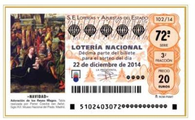 Roben a Vilafranca 12 dècims premiats de la Grossa de Nadal