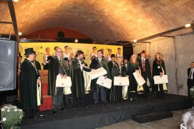 Ajt Sant Sadurní d'Anoia. Miquel Barceló se se suma a la llista de Confrares d'Honor de la Confraria del Cava