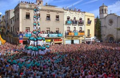 Castellers de Vilafranca. Tots Sants per acabar una gran temporada dels Castellers de Vilafranca
