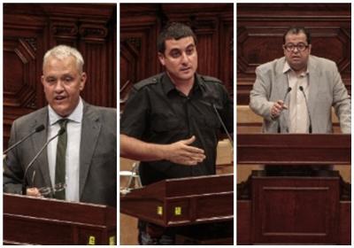 Parlament. Tres vilanovins, en el debat de la Llei de Consultes al Parlament
