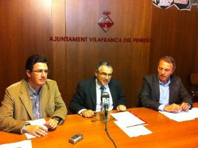 Ajuntament de Vilafranca. Vilafranca tindrà un pressupost d'1 milió i mig d'euros més que el 2014, i potencia l'àmbit social i cultural