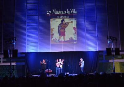 27a edició del festival de música tradicional Música a la Vila del Vendrell. Ajuntament del Vendrell