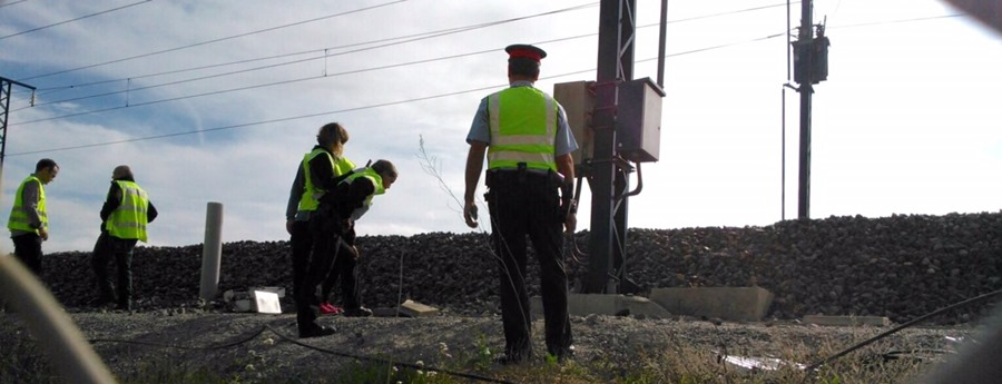 Els Mossos investiguen el robatori de fibra òptica enter Vilafranca i Gelida