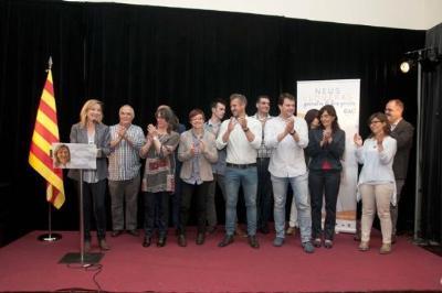 CiU. Acte de presentació de la candidatura de CiU a Vilanova