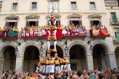 Bordegassos de Vilanova a la diada de festa major. Virginia López