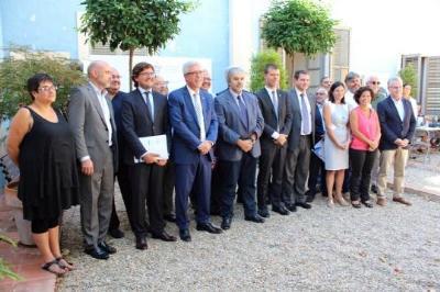 Clam unànime i unitari del territori per demanar la implicació de l'estat en el finançament dels Jocs Mediterranis. Ajuntament de Calafell
