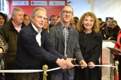 Ajuntament de Sitges. Creu Roja de Sitges inaugura el Centre de Distribució d'Aliments