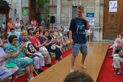 Desfilada de moda d'Oxfam Intermon a Vilanova. OXFAM