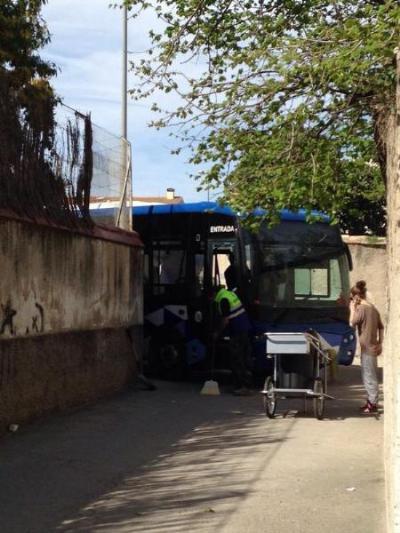 Xavier Garrido. Detinguts dos joves per robar un autobús a Vilafranca i conduir temeràriament