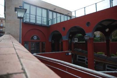 Ajuntament de Gelida. El Centre d'Interpretació del Funicular està ubicat a sobre de l'estació superior
