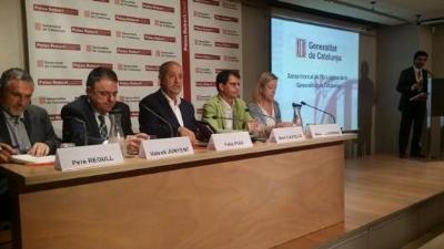 El conseller d'Empresa i Ocupació, Felip Puig, ha presidit aquest matí la presentació del projecte de desplegament de la xarxa d'alta capacitat. Gener