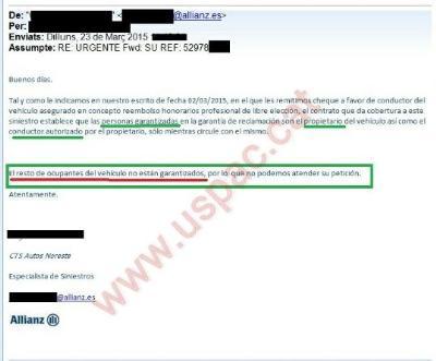 USPAC. El sindicat dels Mossos denuncia que els cotxes patrulla no tenen assegurança per als conductors