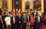 Els regidors del nou Ajuntament de Vilafranca del Penedès