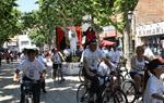 Festa de la Bicicleta 2015. 1r premi, dotat amb 400 euros, per als Pastorets del Vendrell