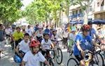 Festa de la Bicicleta 2015. Premi de 200 euros a l'escola Àngel Guimerà, amb 208 participants