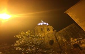 Il·luminació led al campanar de l'església del Sant Salvador del Vendrell