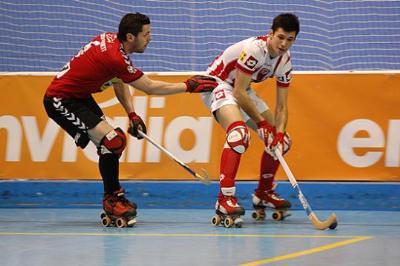 FEP. Imatge del partit entre el Vic i el Moritz Vendrell
