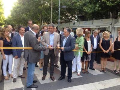 Inauguració oficial de la 9a edició de la Fira del Vi - Banc Sabadell Vijazz Penedès 2015. Generalitat de Catalunya