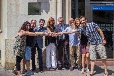 """La Banda de Música """"Mestre Montserrat"""", de Vilanova i la Geltrú, a la Festa Major de Vilafranca gràcies al patrocini de Banc Sabadell. Ajuntament de V"""