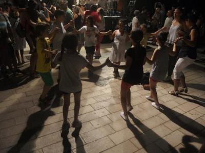 La revetlla sardanista de la festa major de Sitges. Ajuntament de Sitges