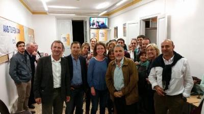 EIX. La seu electoral de CiU a Vilafranca del Penedès