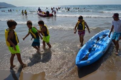 Les Estades Esportives, una de les opcions més atractives de l'estiu per als infants. Ajuntament de Sitges