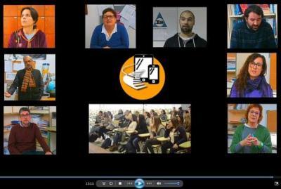 I. Eugeni d'Ors. L'Institut Eugeni d'Ors de Vilafranca obre una App per interactuar amb els seus alumnes