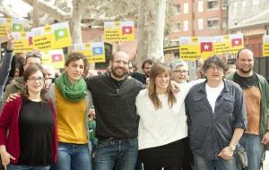 Marcel Martínez, Laia Santís, Maria Ferrerrons, Joan Gilabert i Marta Raventós encapçalaran les properes llistes de la CUP de Vilafranca del Penedès