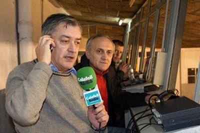 Mor Ferran Rodríguez, periodista històric de Calafell Ràdio. Ajuntament de Calafell