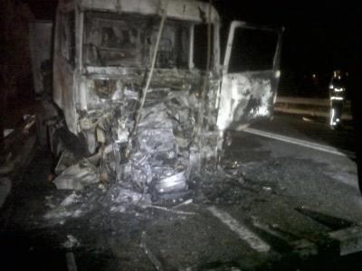Ramon Delgado. Mor un motorista en un xoc frontal contra un camió a Olèrdola