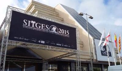 Preparatius dels festival de cinema de Sitges. Sitges Festival