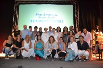 Presentació de la Festa Major de Sitges i Santa Tecla. Ajuntament de Sitges