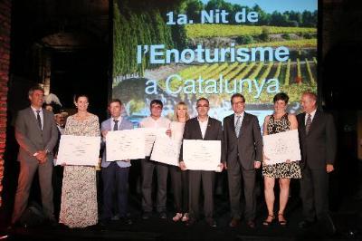 Primers Premis de l'Enoturisme de Catalunya. Generalitat de Catalunya