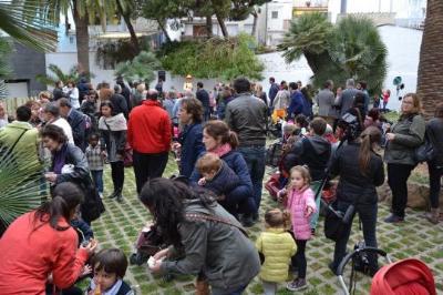Ajuntament de Sitges. S'obre al públic el Jardí de Les Parellades