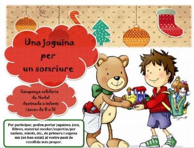 Torna la campanya Una joguina per un somriure a Sitges. Ajuntament de Sitges