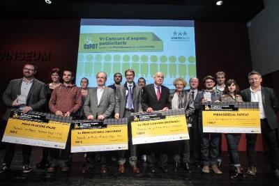 Vilafranca ha acollit la Gala de Lliurament de Premis del VI Concurs ESPOT, un certamen d'espots publicitaris contra discriminació en salut mental . E