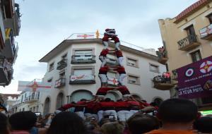 2 de 8 amb folre dels Xicots de Vilafranca a Lleida