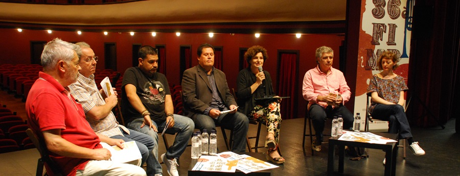 Presentació del FIMPT 2016 al Teatre Principal