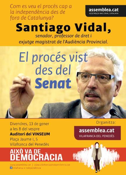 Com es veu el procés des de fora de Catalunya?: Santiago Vidal