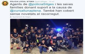 Algunes de les publicacions que han fet les policies locals i els mossos del nostre territori en els darrers dies