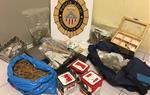 Detingut un lladre reincident després de robar en una botiga de venda de cànnabis a Vilanova