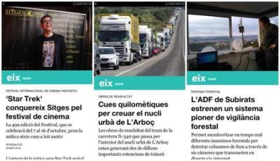EIX DIARI, primer mitjà del territori que publica a Facebook Instant Articles. EIX
